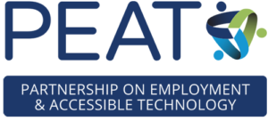 The Partnership on Employment and Accessible Technology logo