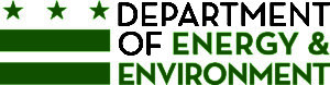 DC Department of Energy & Environment logo