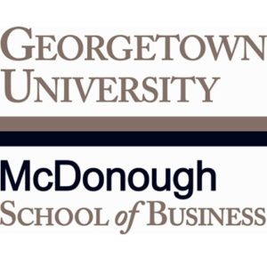 Georgetown McDonough School of Business logo